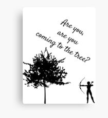 The Hunger Games, The Hanging Tree Canvas Print