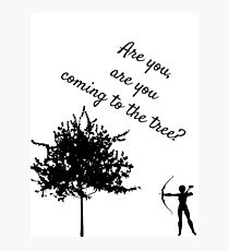 The Hunger Games, The Hanging Tree Photographic Print