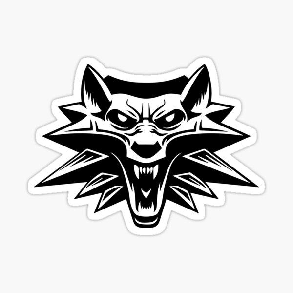 The Black Witcher Sticker