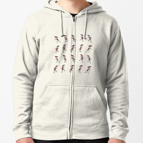 The Crooked Man Zipped Hoodie