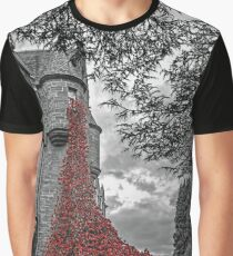 Weeping Window of Poppies Graphic T-Shirt