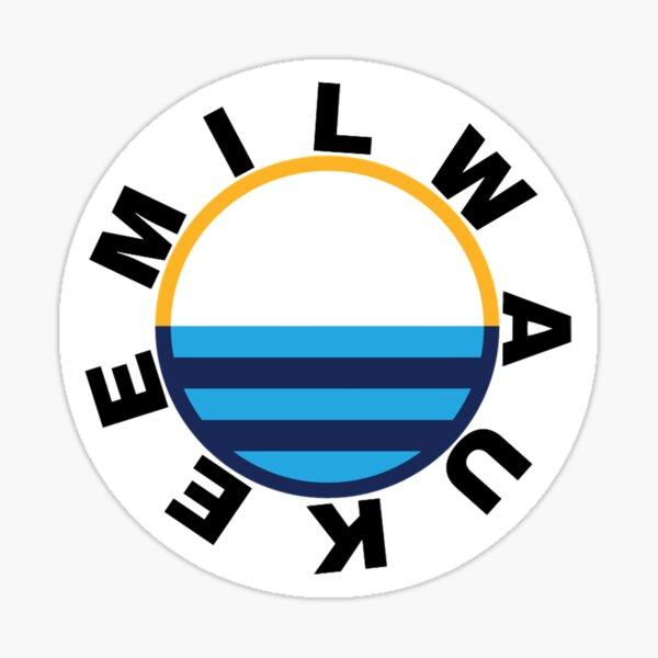 People's Flag of MKE Black Lettering Sticker