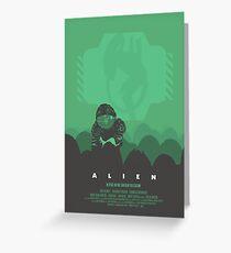 Ridley Scott's Alien Print Sigourney Weaver as Ripley Greeting Card
