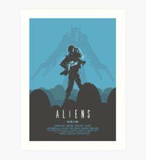 Ridley Scott's Aliens Print Sigourney Weaver as Ripley Art Print
