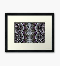 nature faces Framed Print