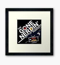 Gone Nerdin Podcast Logo Framed Print