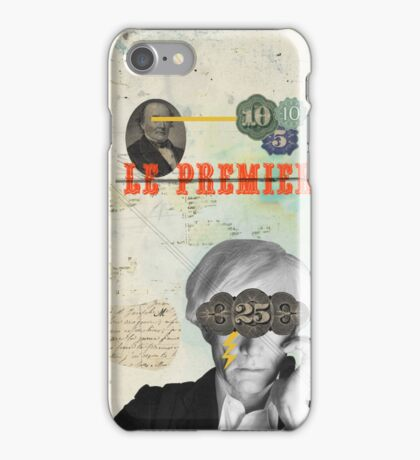 Public Figures Collection -- Andy Warhol by Elo iPhone Case/Skin