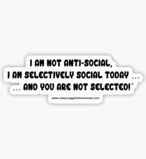 Just Words Collection 10# Sticker