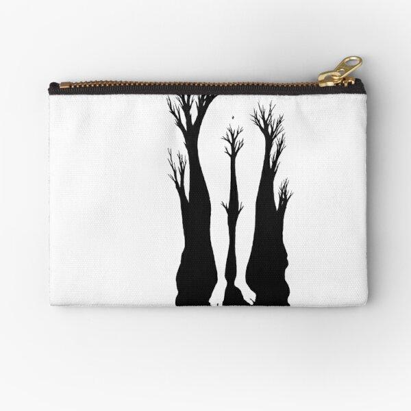 Lady Tree Zipper Pouch