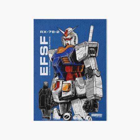 Gundam Art Board Print