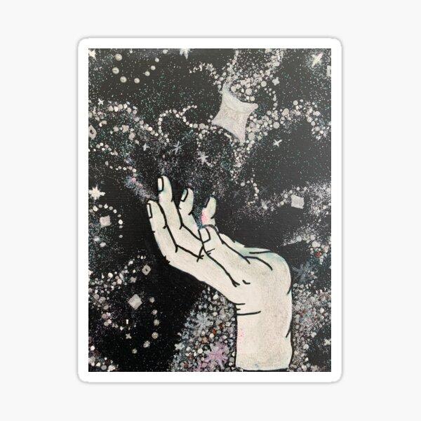 magic hand  Sticker