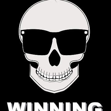 WINNING skull by sheepkeep