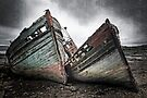 Shipwreck ! Abandoned Boats. Salen. Isle of Mull. Scotland. by PhotosEcosse