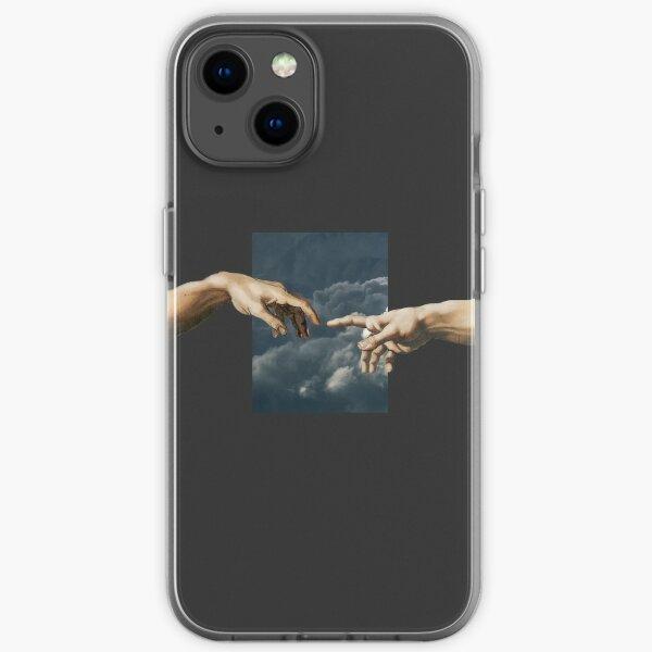 Creation of Adam iPhone Soft Case