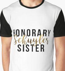 Ehrenschuyler Schwester (Goldfolie) Grafik T-Shirt