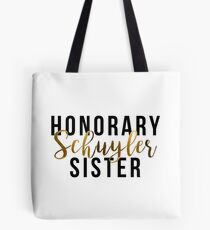 Honorary Schuyler Sister (Gold Foil) Tote Bag