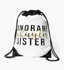 Mochila saco Honorario Schuyler Sister (lámina de oro)