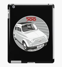 Fiat 500F white iPad Case/Skin