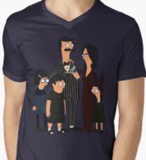 Addams' Family Burgers Men's V-Neck T-Shirt