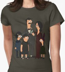 Addams' Family Burgers Women's Fitted T-Shirt