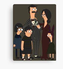 Addams' Family Burgers Canvas Print