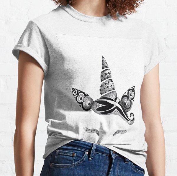 ZENTANGLE UNICORN SOPHIE QUEUNIEZ T-shirt classique