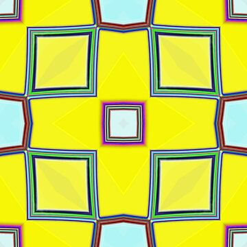 Yellow square pattern by dutchstranger