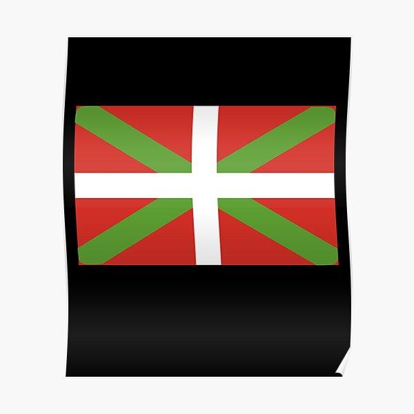 Cadeau drapeau Pays Basque Poster