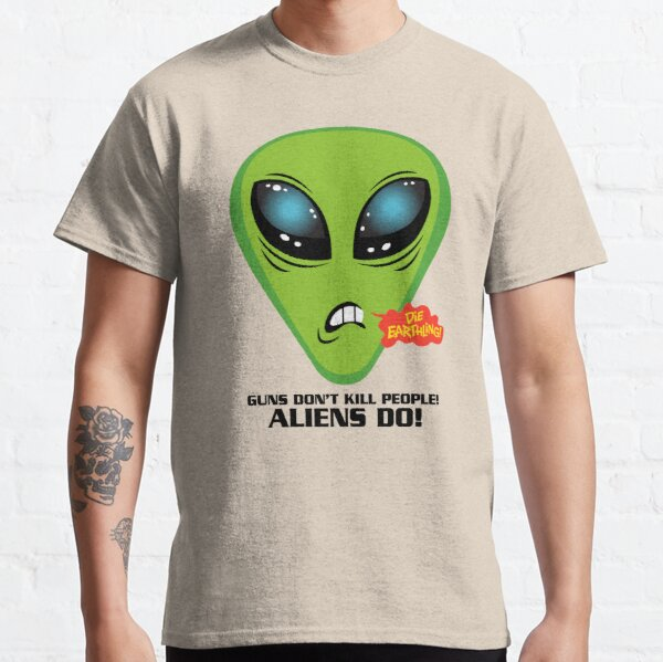 Illegal Aliens And Guns Classic T-Shirt