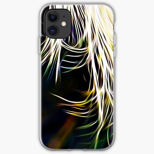 Egret print iPhone Soft Case