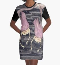Mermaids Graphic T-Shirt Dress