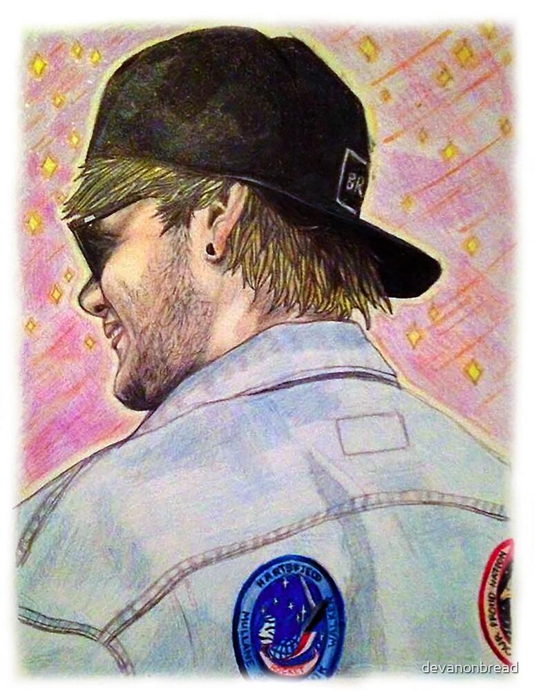 Back of Michael by devanonbread