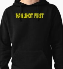 Han Shot First Pullover Hoodie