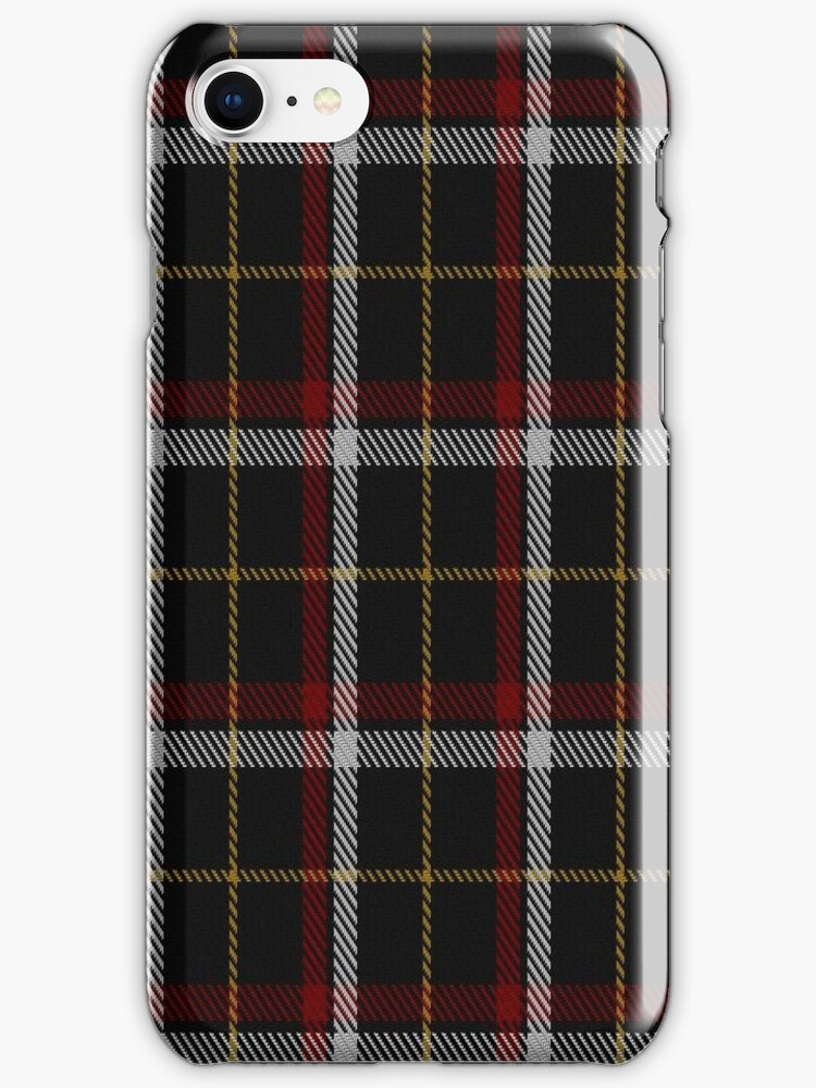 01684 Black (asymmetric) Tartan  by Detnecs2013