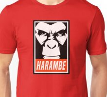 Harambe (OBEY Meme) Gorilla Shirt, Phone Case, Stickers Unisex T-Shirt