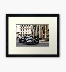 Bugatti Veyron Supersport Framed Print