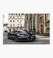 Bugatti Veyron Supersport Photographic Print