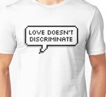 Love Doesn't Discriminate Unisex T-Shirt