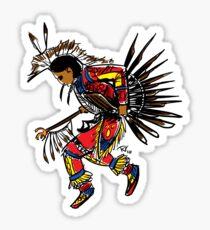 Men's Traditional Dancer Sticker