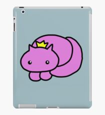pretty kitty crown print iPad Case/Skin
