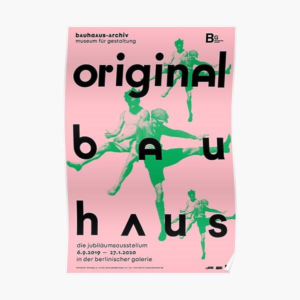 Original Bauhaus Poster   Pink  Poster