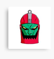Trapjaw Face Canvas Print