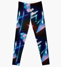 Postmodern Neon 80s Lights No.4 Leggings