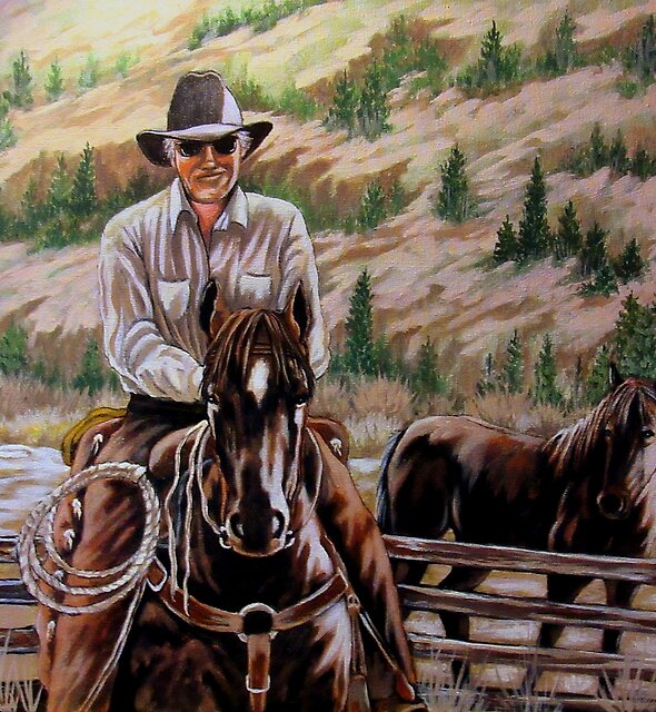 The $12.00 Resistol And Pecos by Susan McKenzie Bergstrom