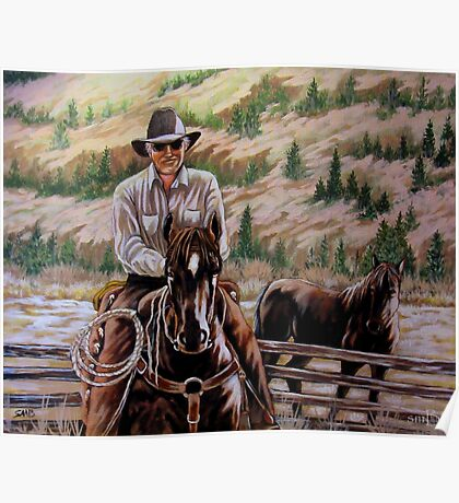 The $12.00 Resistol And Pecos Poster