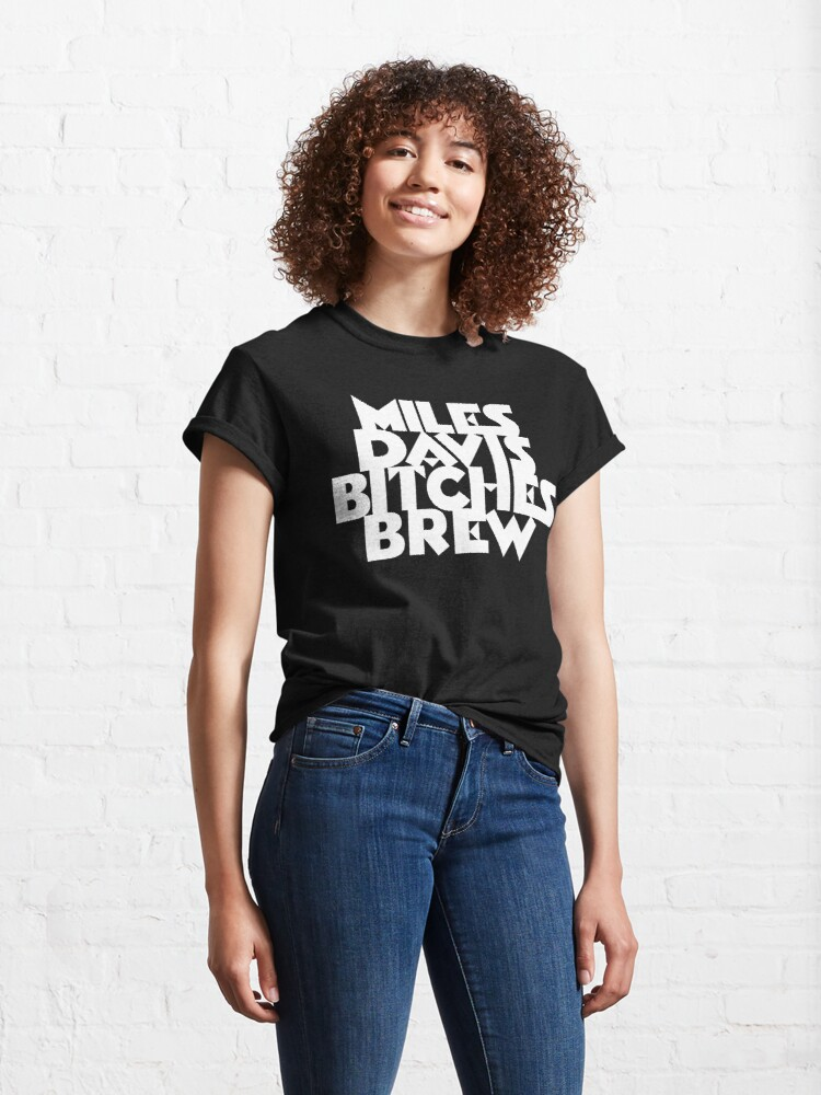 Alternate view of Bitches Brew - WHITE LETTERS Classic T-Shirt