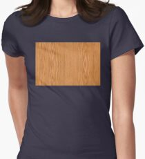 Wood 4 Women's Fitted T-Shirt