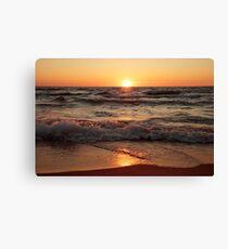 Lake Michigan Sunset II Canvas Print