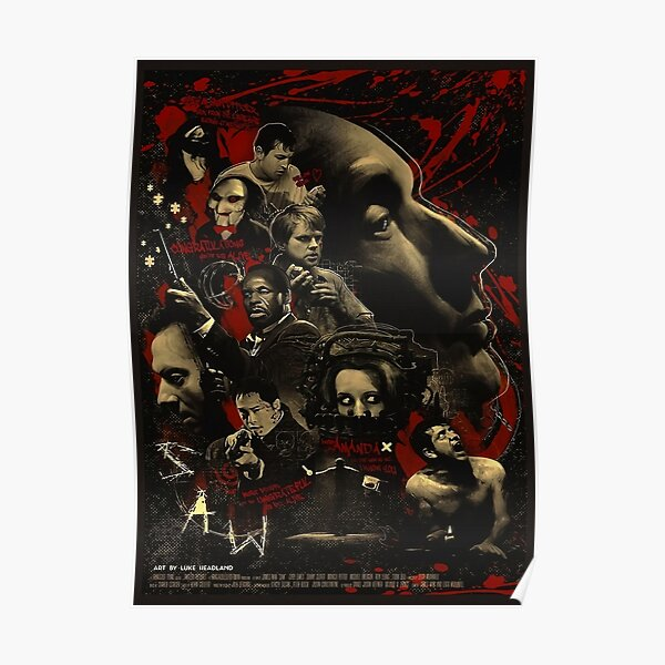 Limited Edition Saw 2004 Film Poster