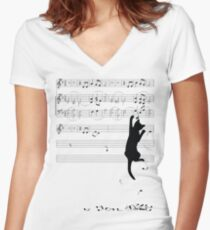 Mischief Women's Fitted V-Neck T-Shirt